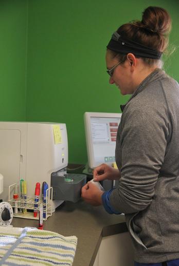 Clinical Lab Station - Oceana Veterinary Clinic